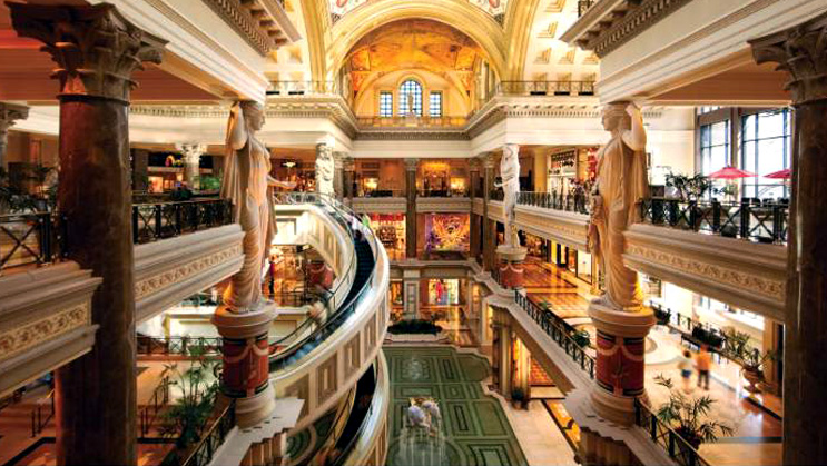 Photo: Forum Shops at Caesars