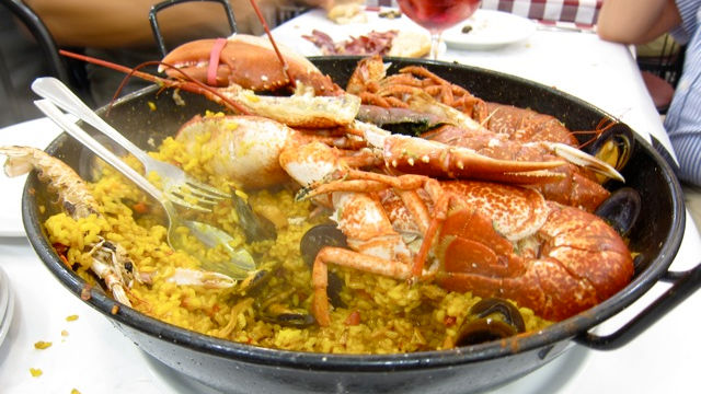Paella, Photo by Mai Pham